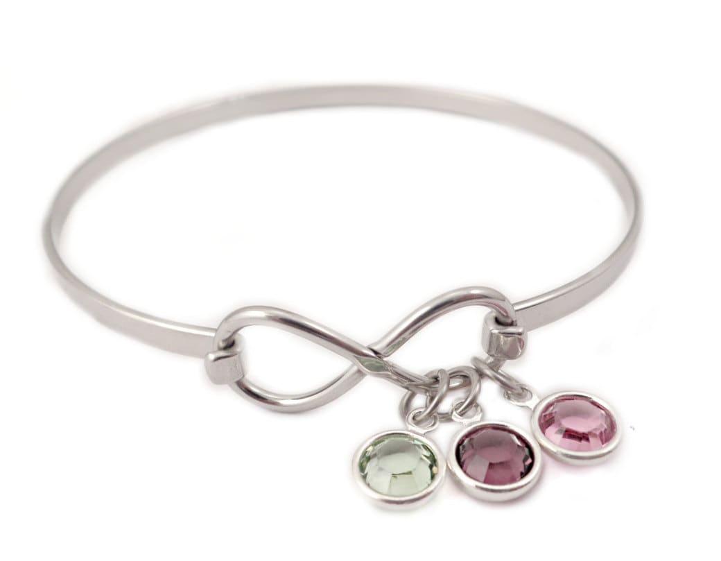 Personalized Infinity Birthstone Bangle Bracelet Handmade. Liquid Watches. Keepsake Lockets. Brass Pendant Necklace. Ankle Bangle. Engagement Rings Infinity Symbol Band. Silver Diamond Bands. St John Bracelet. Keepsake Rings