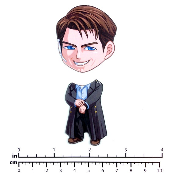 Mix and Match Magnets: Captain Jack Harkness (Doctor Who/Torchwood)