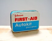 Vintage Johnsons First Aid Tin