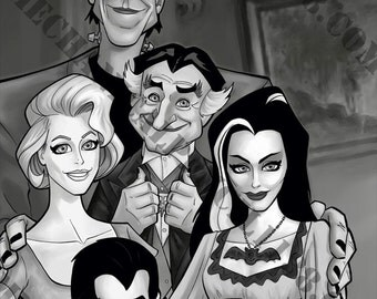 Print 08- The Munsters