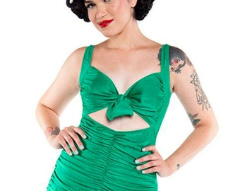 EMERALD GREEN Swoon 1 Piece Swimsuit (xs-xxl)