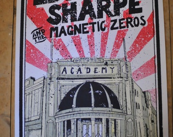 Edward Sharpe and the Magnetic Zeros - Brixton Academy screen print.