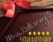 20% OFF SALE Personalized Custom Bridal Hanger / Brides Hanger / Bride / Name Hanger / Wedding Hanger /Personalized Bridal Gift