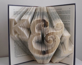 Anniversary  Gift For Boyfriend Girlfriend - 1st First Wedding Anniversary Gift for Husband Wife - Best Selling Item - Folded Book Art