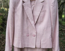 PINK SUIT - Jacket & Skirt