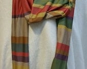 4th Doctor Extra Long Infinity Scarf - Custom Hand-Crafted Double-Layer