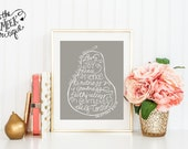 INSTANT DOWNLOAD, Fruit of the Spirit Scripure Printable, No. 138