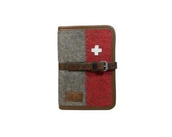 WD65 Swiss Army Blanket Writing Case A5 by Karlen Swiss