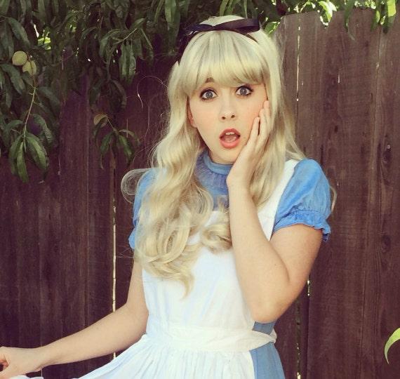 Alice In Wonderland Blonde Wig 59