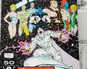 The Silver Surfer Comic Book.  Annual No 4. 1991. The Korvac Quest Part 3. In Battle with the Guardians of the Galaxy. Nerdilicious.
