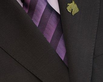 Scottish Terrier brooch - Gold