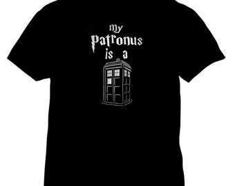doctor who - my patronus is a tardis