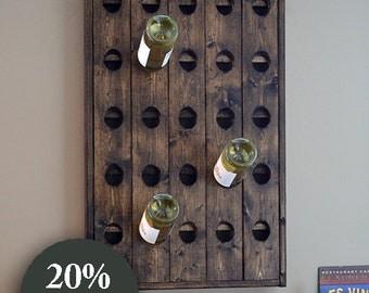 Riddling Rack Wine Rack