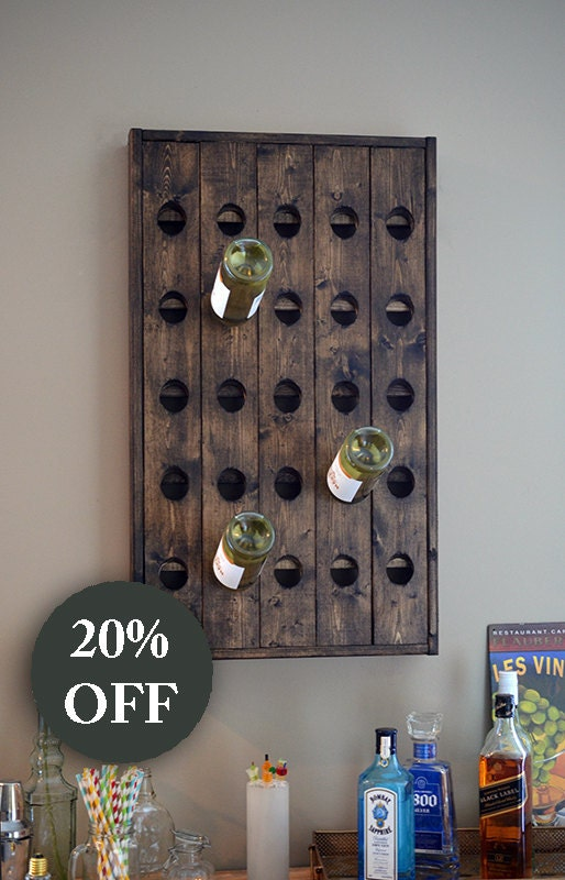how to make a riddling rack