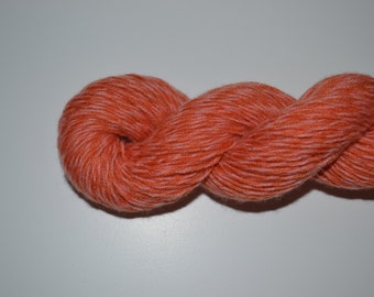 Pure Cashmere Reclaimed Yarn - Pink and Orange
