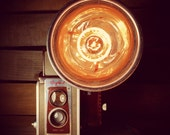 Kodak Duaflex Lamp by Stonehill Design - Repurposed Upcycled Decorative Lighting Photography