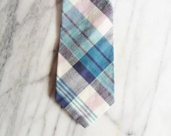 Vintage Arturo Phillipe Designer Plaid Tie