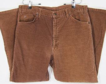Vintage Levi's 517 Corduroy Pants W37 1970's