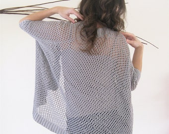 Kimono Cardigan | Spring Cardigan Mothers Day Gift | Summer Cardigan | Light Summer Sweater | Open Oversized Cardigan | Minimalist Clothing