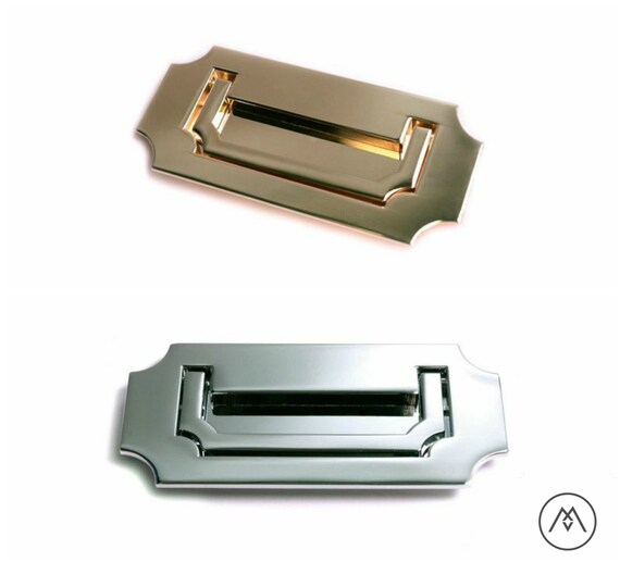 Campaign Furniture Handles Polished Brass Polished Chrome