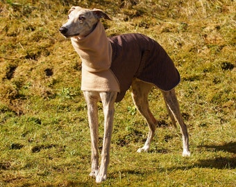 Striped Spring & Autumn Whippet Jacket