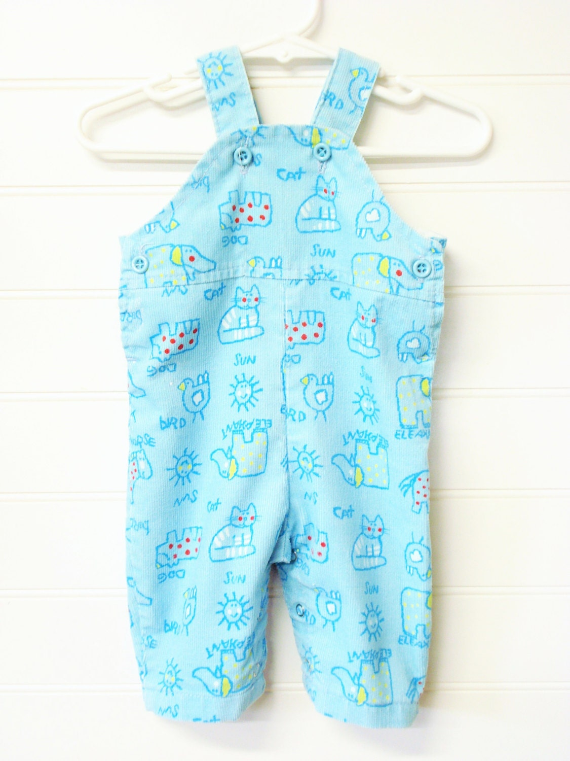 Vintage Baby Clothes Baby Boy or Girl Corduroy by