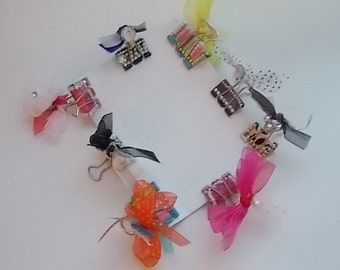 Decorative Paper Binder Clips
