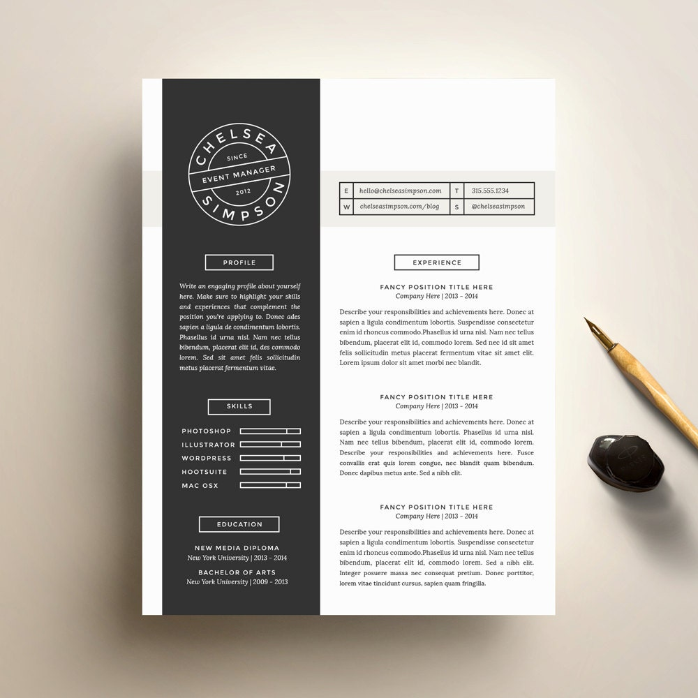 stand out resume titles resume templates that stand out template