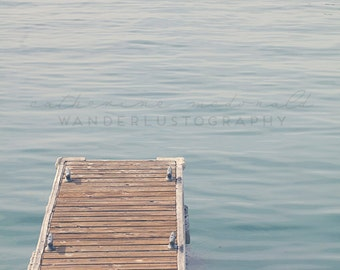 The Dock - Photographic Print - Dana Harbor, California, Bohemian, Dana Point, boho, chic, blue,  Photograph, Wall, Art, Hanging,