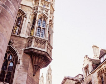 Cambridge Print - College Buildings Fine Art Photograph