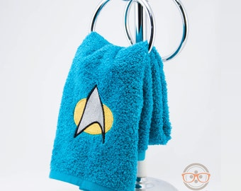 Star Trek TNG Science Inspired - Embroidered Hand Towel