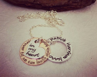 Memorial Necklace - Memorial Jewelry - Loss of loved one - Sympathy Gift - Loss of Father - Loss of Mother - Memorial Gift - Loss of Grandma