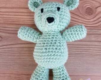Crochet Teddy Bear (MADE TO ORDER)