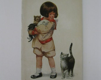 M Grimball - Artist Signed Post Card - The Kidnapper - Series 702 - 1911 - Used
