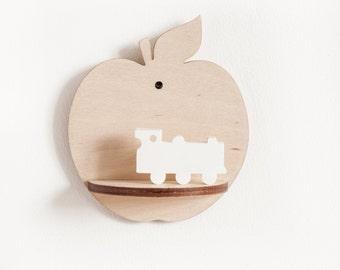 Little Apple Shelf - Natural