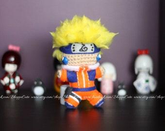Crochet Amigurumi Naruto doll