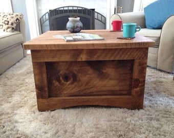 Coffee storage table
