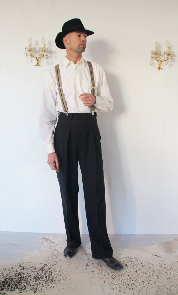 1930 S Vintage Style High Waisted Pants1940 S By