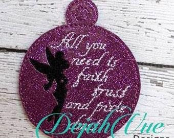 ITH Pixie Dust Christmas Ornament