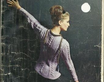 1960's Reynolds Vol 32 Mid Century Modern Sweaters High Retro Fashion