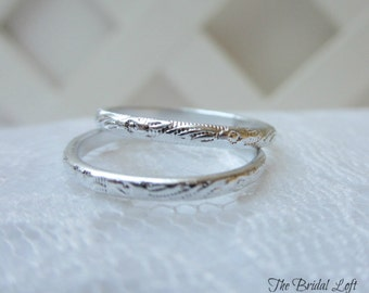 pair of faux wedding bands wedding rings for your ring pillow anniversary bridal shower wedding favors choice of silver or gold - Fake Wedding Ring