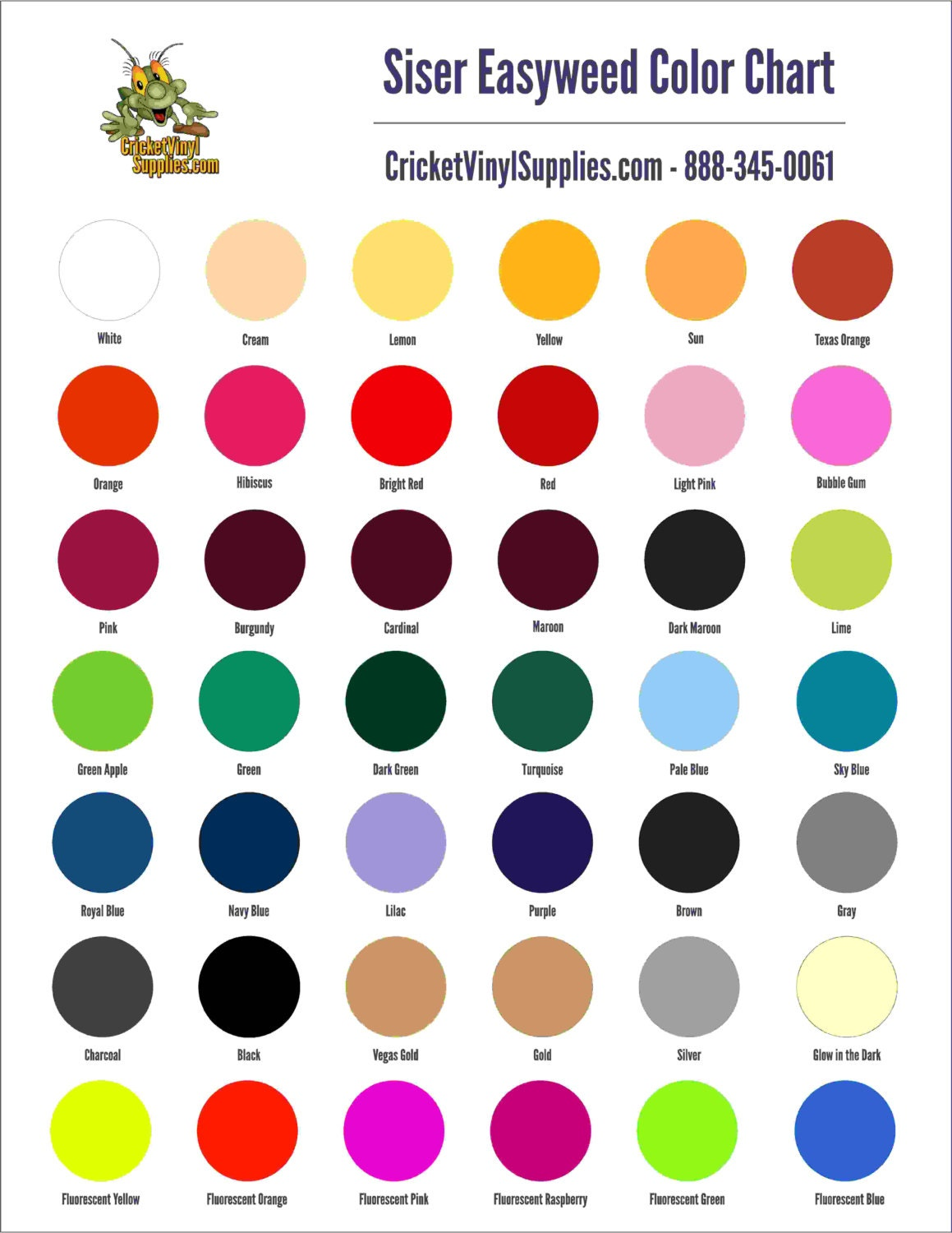 Swiss Koch Kitchen Collection Siser Easy Color Chart 28 Images Siser Cadflex Heat