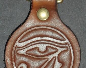 Eye of Horus Symbol of Protection key fob keyring