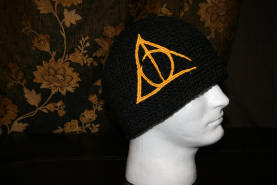 Harry Potter 'Deathly Hallows' Skater Beanie