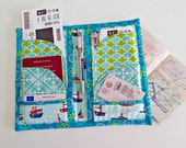 Family Travel and Passport Wallet - PDF Sewing  pattern