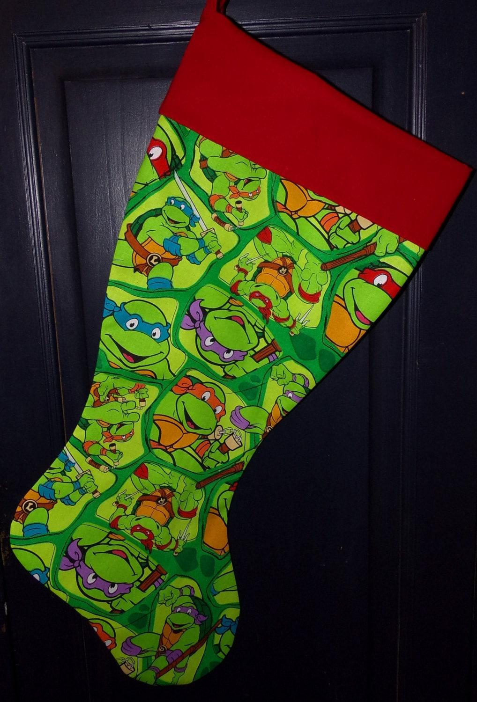 Teenage Mutant Ninja Turtles Christmas Stocking