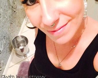 Captive Bead Nose Ring G Australia
