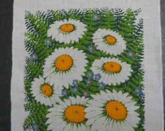 Vintage Measures Tea Towel With Flowers