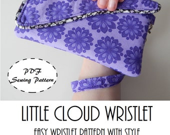 Little Cloud Wristlet: DIGITAL Sewing Pattern