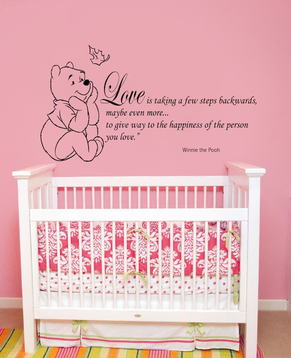 wandtattoo zitate winnie der puuh wand aufkleber von bestdecals. Black Bedroom Furniture Sets. Home Design Ideas